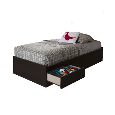 South Shore Vito Twin Mate's Bed with Storage