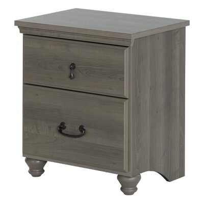 South Shore Noble 2 Drawer Nightstand