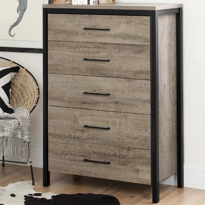 South Shore Munich 5 Drawer Chest
