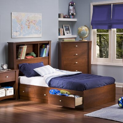 South Shore Jumper Twin Mate's Bed with Storage