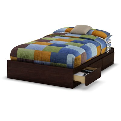 South Shore Willow Storage Platform Bed
