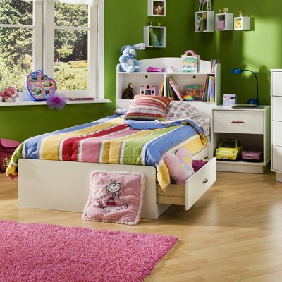 South Shore Logik Twin Platform Customizable Bed..