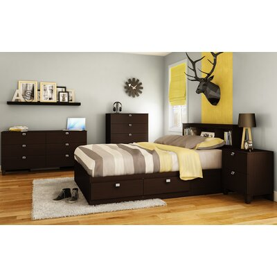 South Shore Karma Platform Customizable Bedroom Set