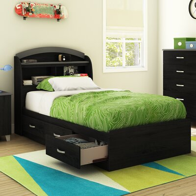 South Shore Lazer Twin Mate's Bed wi..
