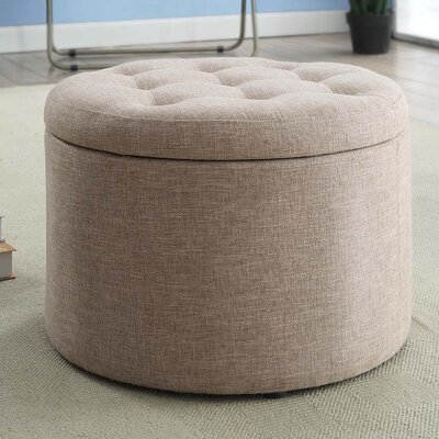 Convenience Concepts Designs4Comfort Round Shoe Ottoman