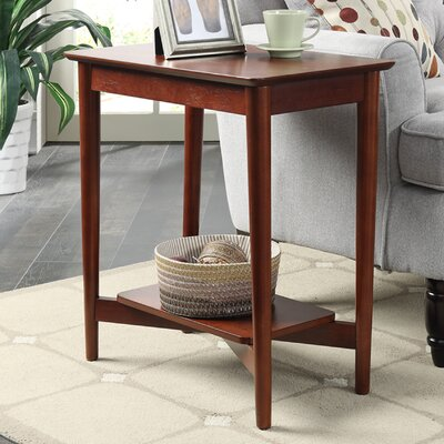 Convenience Concepts Savannah Mid Century Chairside Table