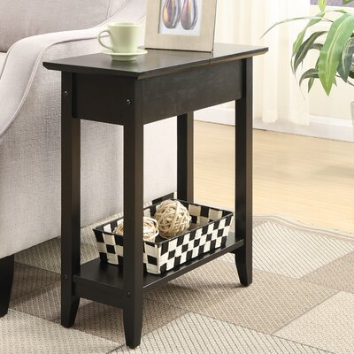 Convenience Concepts American Heritage Flip Top End Table