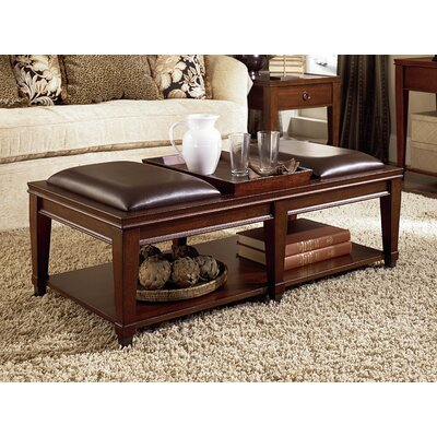 Darby Home Co Fitzhugh Coffee Table with Tray Top