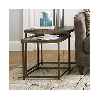 Hammary Leone 2 Piece Nesting Table Set