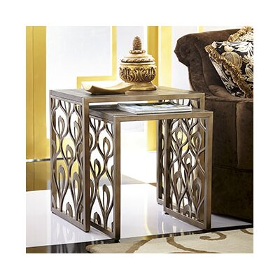 Hammary Bob Mackie 2 Piece Nesting Tables