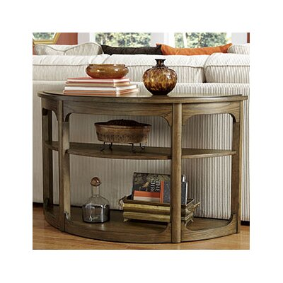 Hammary Facet Console Table