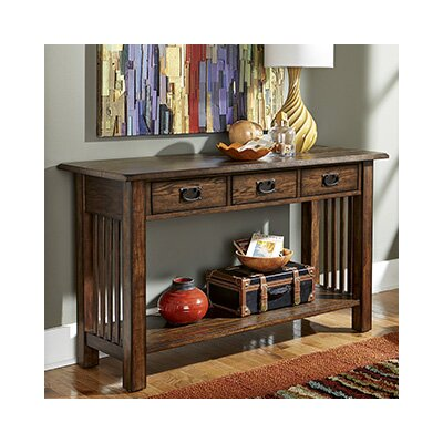 Hammary Canyon II Console Table