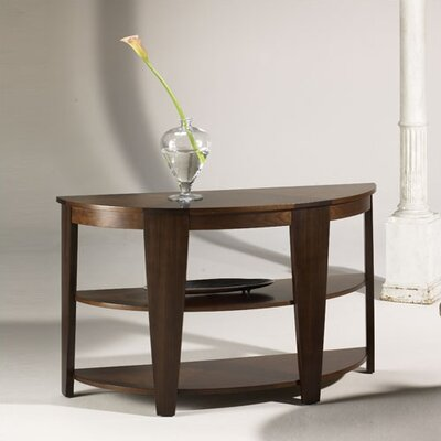 Hammary Oasis Demilune Console Table