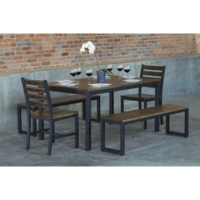 Elan Furniture Loft  5 Piece Dining Set