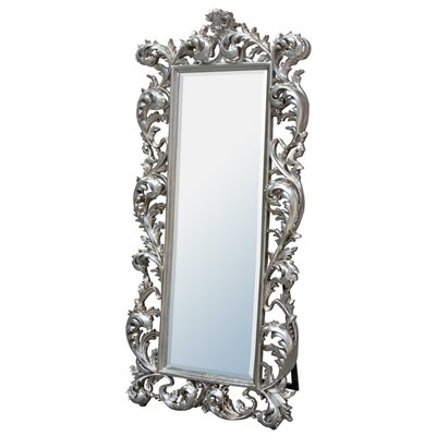 dusx baroque free standing mirror wayfair uk