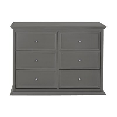 Million Dollar Baby Classic Foothill 6 Drawer Changing Double Dresser