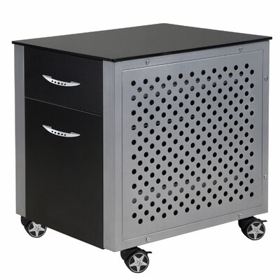 PitStop Furniture Racing Style 2 Drawer Cabinet