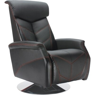 PitStop Furniture Racing Chair Fiber Recliner