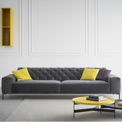 Pianca USA Boston Capitonné with Tufted Back Sofa