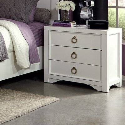 Donny Osmond Home Furiani 3 Drawer Chest