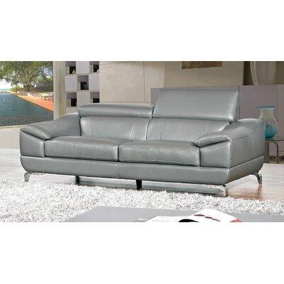 Cortesi Home Vegas Genuine Leather Sofa