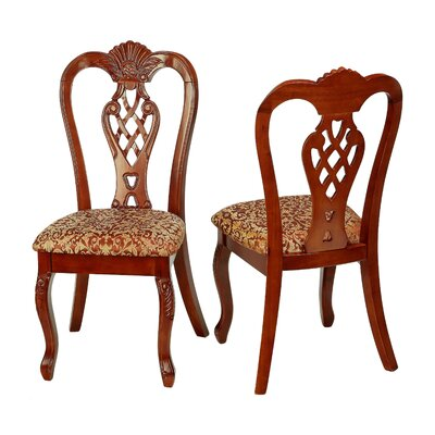 Cortesi Home Elisabetta Side Chair (Set of 2)