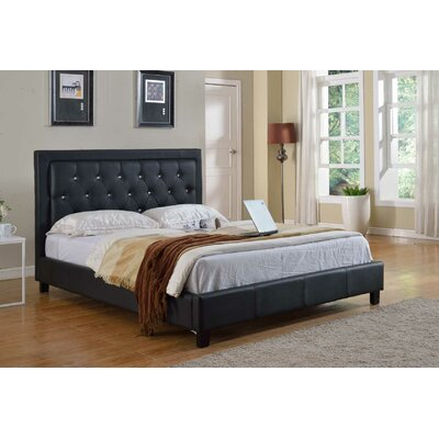 Milton Green Star Upholstered Platform Bed