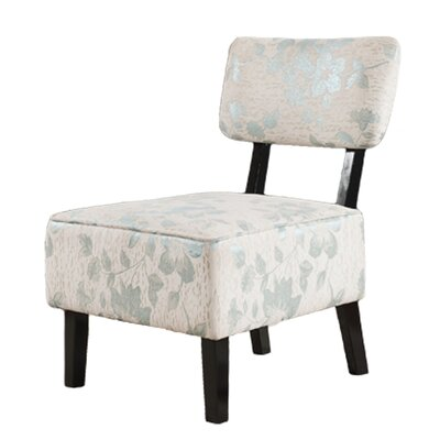 Milton Green Star Tranquility Floral Side Chair