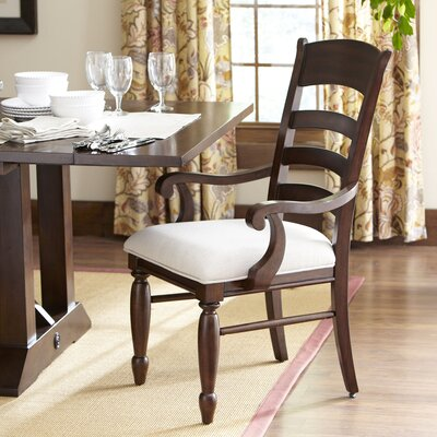Birch Lane Lisbon Ladder-Back Arm Chairs (Set of 2)