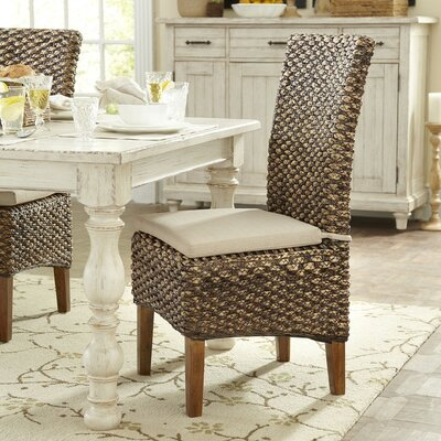 Birch Lane Woven Seagrass Side Chairs (Set of 2)