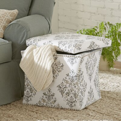 Birch Lane Page Nailhead Trim Storage Ottoman
