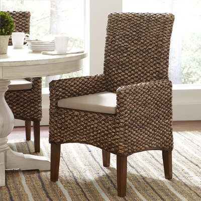 Birch Lane Woven Seagrass Arm Chairs (Set of 2)