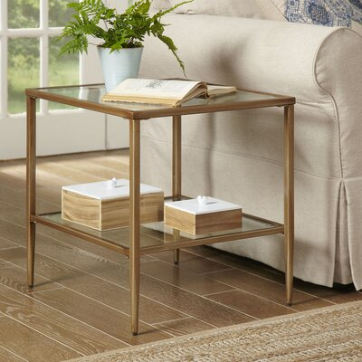 Birch Lane Nash Double Shelf End Table