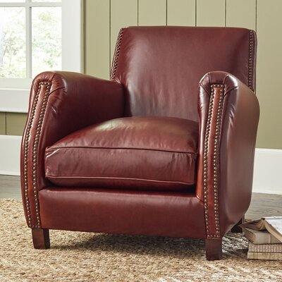 Birch Lane Frost Leather Chair