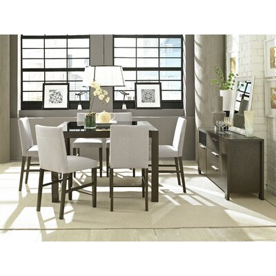 Brayden Studio North Stoke 7 Piece Counter Height Dining Set