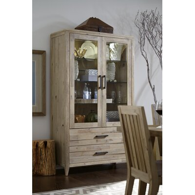 Laurel Foundry Modern Farmhouse Barrett Curio Cabinet