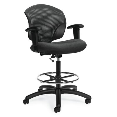 Global Total Office Tye Low-Back Mesh Task Chair with Arms