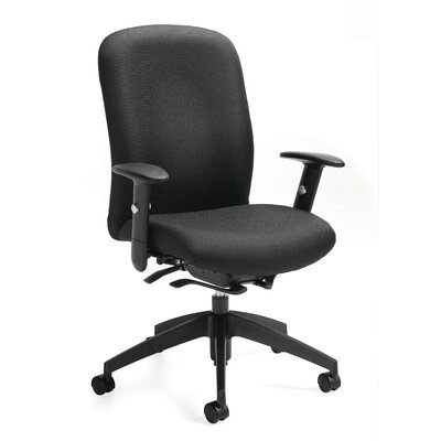 Global Total Office Truform High-Back Chair with Arms