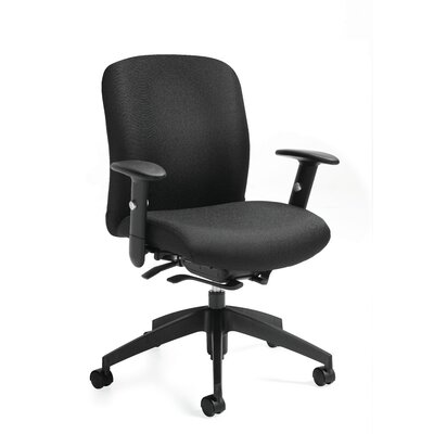 Global Total Office Truform Mid-Back C..
