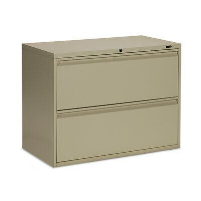 Global Total Office 1900 Plus 2 Drawer Lateral File