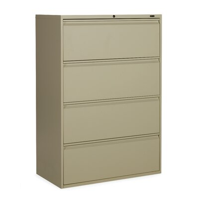 Global Total Office 1900 Plus 4-Drawer Lateral File