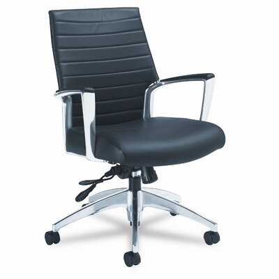 Global Total Office Accord Conference Mid-Back Pneumatic Conference Chair