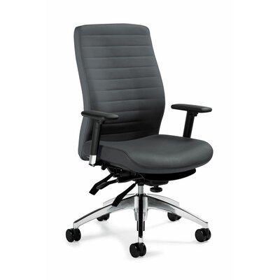 Global Total Office High-Back Multi Executive Chair with T-Arms