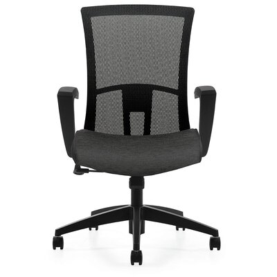Global Total Office Vion High Back Mesh Office Chair with Fixed