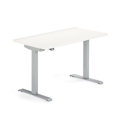 Global Total Office Foli Height Adjustable Table with Laminate Top