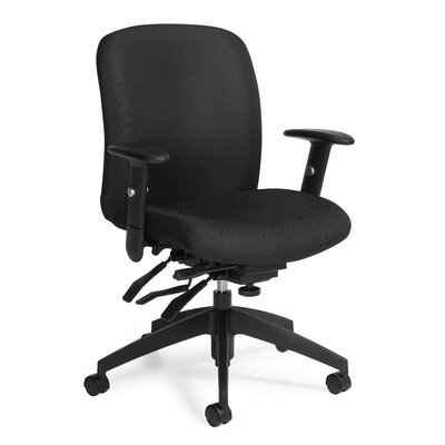 Global Total Office Truform Mid-Back Mult..