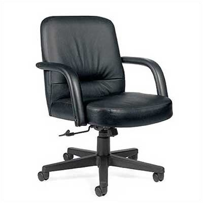 Global Total Office Low-Back Leather E..