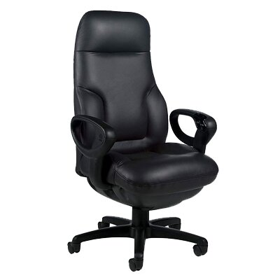 Global Total Office Concorde High-Back Leather Executive Chair