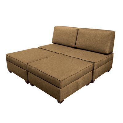 Red Barrel Studio Attica King Sleeper Ottoman