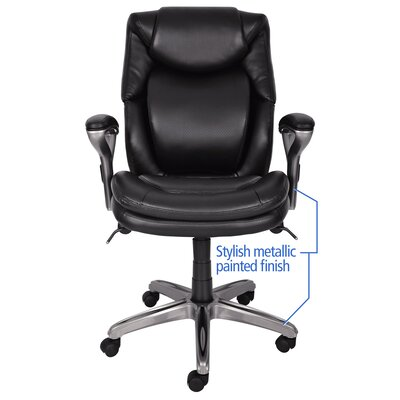 Serta at Home AIR™ Health and Wellness Mid-Back Executive Chair